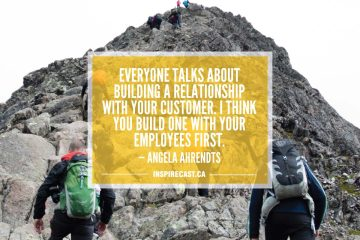 Everyone talks about building a relationship with your customer. I think you build one with your employees first. — Angela Ahrendts