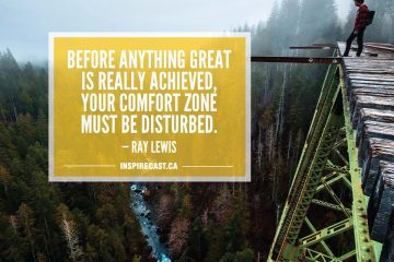 Before anything great is really achieved, your comfort zone must be disturbed. — Ray Lewis