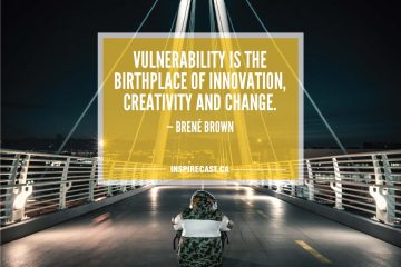 Vulnerability is the birthplace of innovation, creativity and change. — Brené Brown