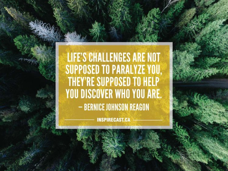 Life's challenges are not supposed to paralyze you, they're supposed to help you discover who you are. — Bernice Johnson Reagon