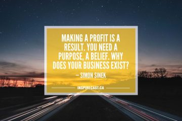 Making a profit is a result. You need a purpose, a belief. Why does your business exist? — Simon Sinek