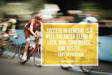 Success in general is a well-balanced blend of luck, DNA, confidence, and hustle. — Gary Vaynerchuk