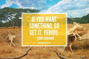 If you want something, go get it. Period. — Chris Gardner