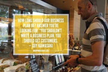 "How long should our business plan be? Answer you're looking for: ""You shouldn't write a business plan. You should get customers. — Guy Kawasaki"