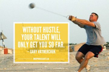 Without hustle, your talent will only get you so far. — Gary Vaynerchuk