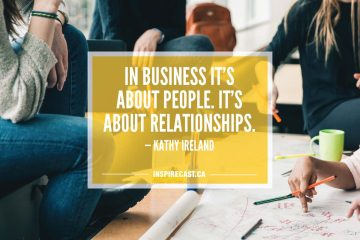 In business it's about people. It's about relationships. — Kathy Ireland