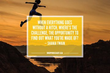 When everything goes without a hitch, where's the challenge, the opportunity to find out what you're made of? — Shania Twain